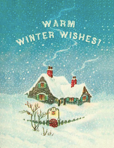 HCC649 Holiday Card - Warm Winter Wishes