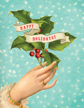 HCC652 Holiday Card - Happy Holidays