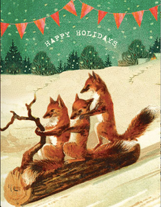 HCC633 Holiday Card - Happy Holidays
