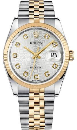 Datejust 36mm 126233 jubilee
