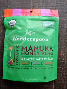 Manuka Honey Pops ll Kids Lollipops