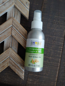 Ginger + Mint Home and Body Aromatherapy Mist ll Room Spray - SimplyGinger
