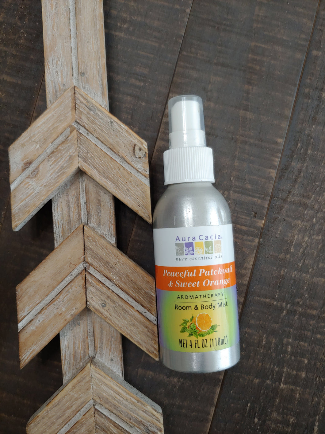 Patchouli + Sweet Orange Aromatherapy Home and Body Mist - SimplyGinger