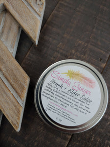 Frank + Elder Salve ll Frankincense Salve ll Elderflower Salve - SimplyGinger