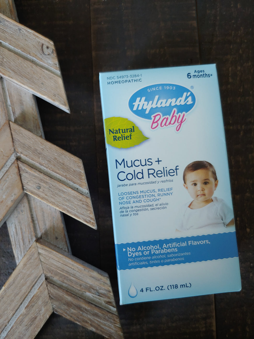 Hyland's Baby Mucus + Cold Relief Syrup ll Baby+Toddler ll Homeopathic - SimplyGinger