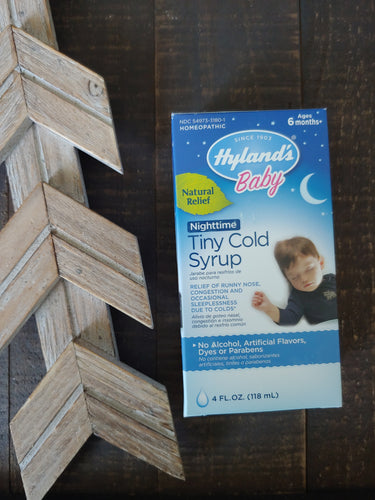Hyland's Baby Tiny Cold Syrup ll Baby ll Homeopathic - SimplyGinger