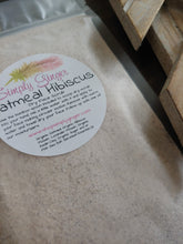 Oatmeal Hibiscus Gentle Exfoliation ll Dry Face Scrub - SimplyGinger