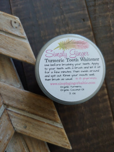 Turmeric Tooth Whitener ll Tooth Paste - SimplyGinger