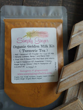 Organic Golden Milk ll Turmeric Tea Kit ll Sleep ll Immune Supprt ll Inflammation - SimplyGinger