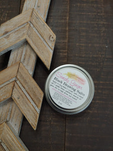 Black Drawing Salve ll Herbal Salve ll Drawing Salve ll Herbal Drawing Salve ll Bug Bites ll Herbal Salve First Aid Salve - SimplyGinger