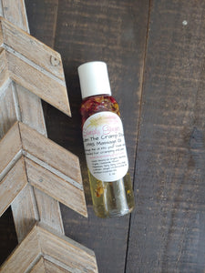 Calm The Cramp Down ll Post Partum + PMS Massage Oil - SimplyGinger