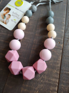 Primrose Petite Strand Teething Necklace ll Chew Necklace - SimplyGinger