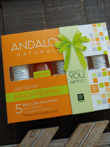 Brightening Skin Care Kit ll Andalou Naturals