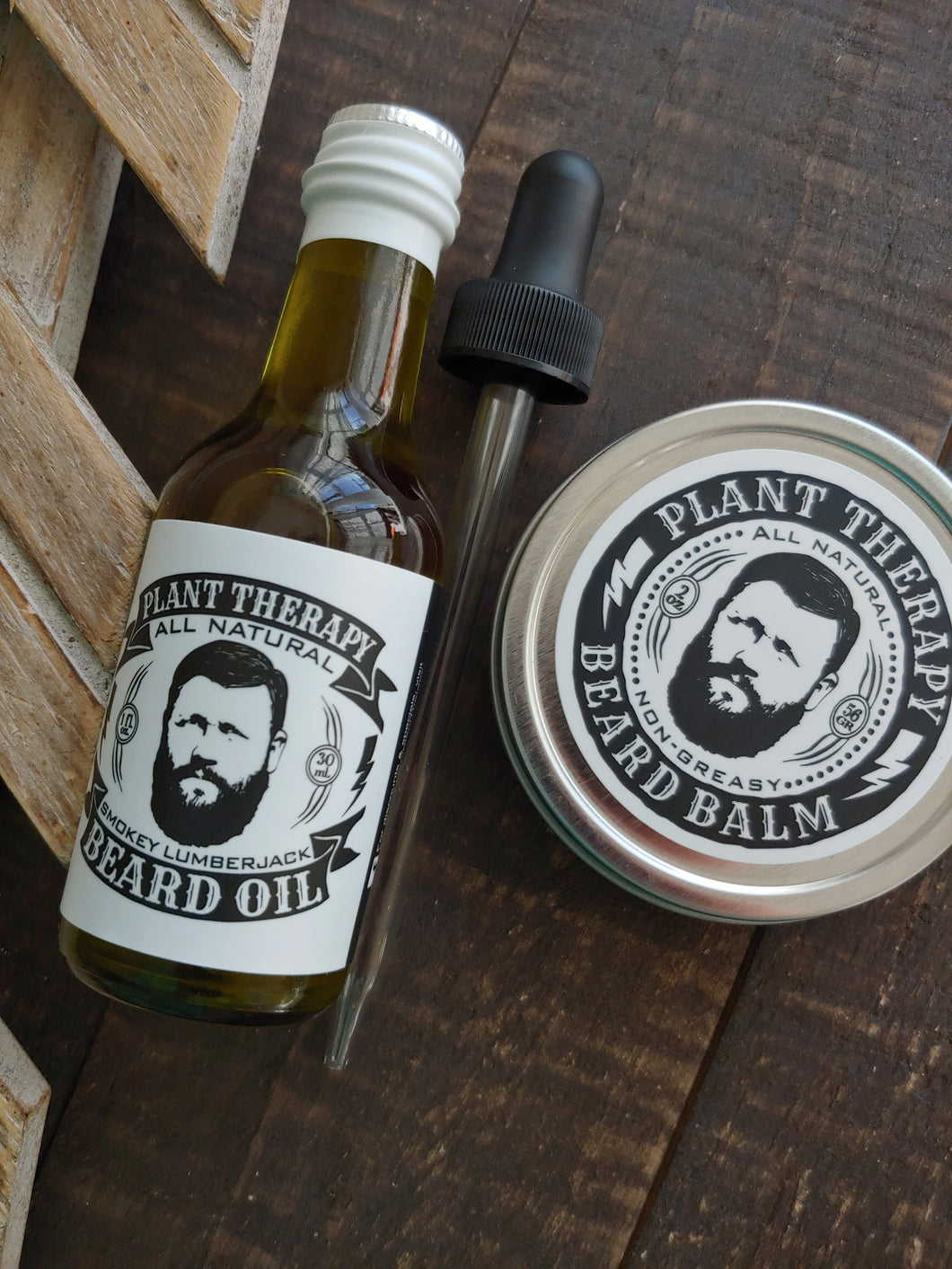 Smokey LumberJack Beard Set ll Plant Therapy