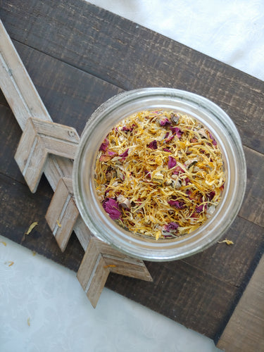 Calendula + Rose Bath Tea ll Mama + Baby Bath Tea