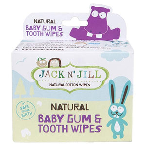 Natural Baby Gum + Tooth Wipes, 25 Count ll Jack N Jill - SimplyGinger