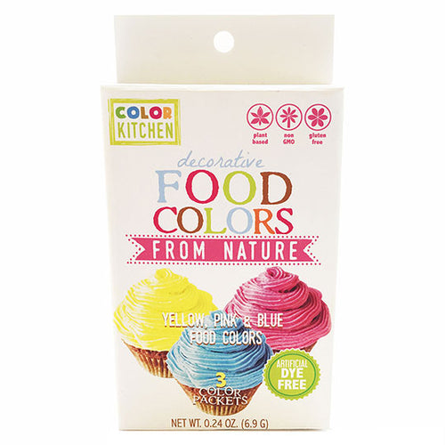 Color Kitchen Food Coloring Kit ll Dye Free
