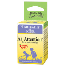 A+ Attention ll Homeopathy for Kids ll 125 Chewable Tablets - SimplyGinger