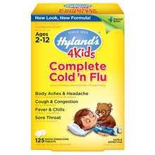 Complete Cold'n Flu Quick Dissolving Tablets ll Hylands, 125 Tablets - SimplyGinger