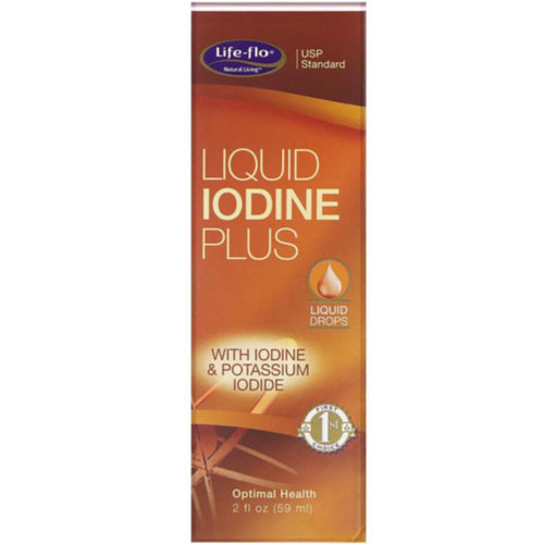 Life Flo Optimal Liquid Iodine Plus ll 2 FL OZ