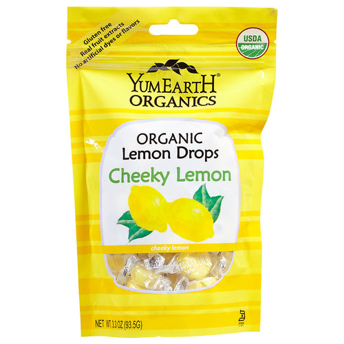 Yum Earth Cheeky Lemon Organic Candy ll 3 oz