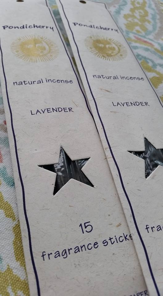 Lavender Incense Sticks - 15 Sticks - SimplyGinger