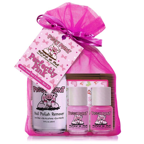 Perfectly Pink Gift Set ll Piggy Paint - SimplyGinger
