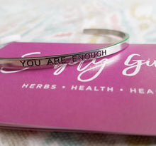You Are Enough - Bangle Bracelet - SimplyGinger