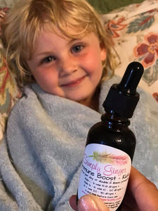 Kids Immune Boost Tincture - Organic Herbs - SimplyGinger