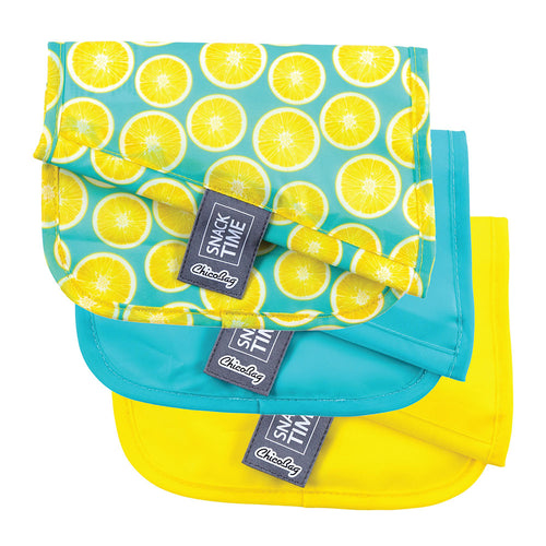 Lemon Reusable Snack Bags ll ChicoBag