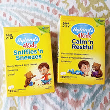 HYLAND'S 4 KIDS SNIFFLES 'N SNEEZES TABLETS 125 QUICK-DISSOLVING TABLETS - SimplyGinger