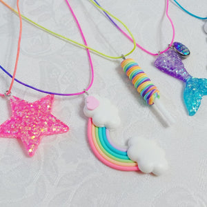 Sugar Bear Necklace ll Stretchy - SimplyGinger
