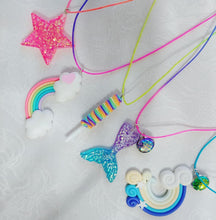 Glittery Star Necklace ll Stretchy - SimplyGinger