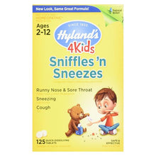 Sniffles'n Sneezes ll Hylands 125 Quick Dissolving Tablets - SimplyGinger