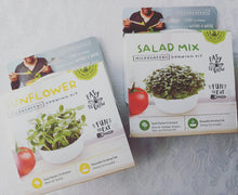Sunflower Microgreens Growing Kits ll Fun For Kids - SimplyGinger