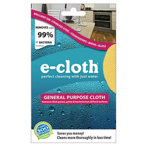 "E-CLOTH GENERAL PURPOSE CLOTH 12 1/2"" X 12 1/2"" - SimplyGinger"