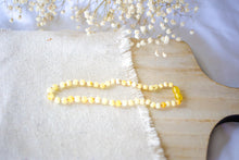 Raw Buttermilk Baltic Amber Necklace ll Teething Pain ll Drooling ll Gum Swelling