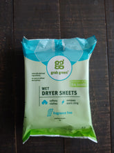 Wet Dryer Sheets ll Grab Green