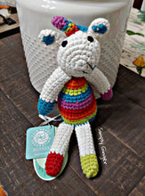 Small Unicorn Rattle ll Pebble ll Fair Trade - SimplyGinger