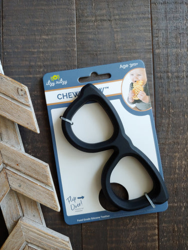 Black Eyeglasses ll Teether - SimplyGinger