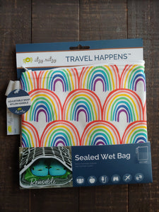Happy Rainbow Wet Bag ll Medium ll Travel Bag - SimplyGinger