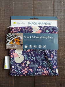 Fox Hollow Snack + Everything Bag ll Travel Bag ll Storage Bag 1 Pack - SimplyGinger