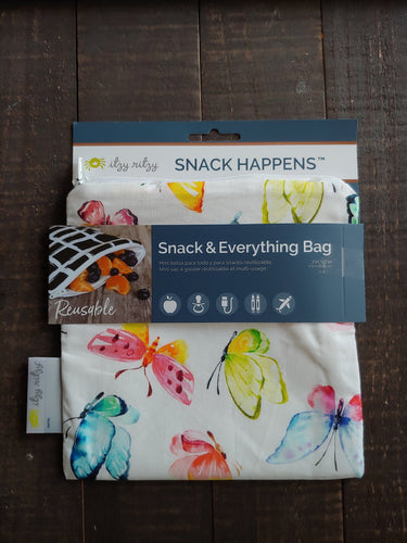 Beautiful Butterfly Snack + Everything Bag ll Travel Bag ll Storage Bag 1 Pack - SimplyGinger