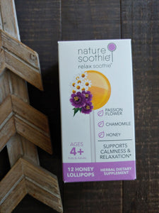 Nature Soothie ll Relax Soothie Lollipops - SimplyGinger