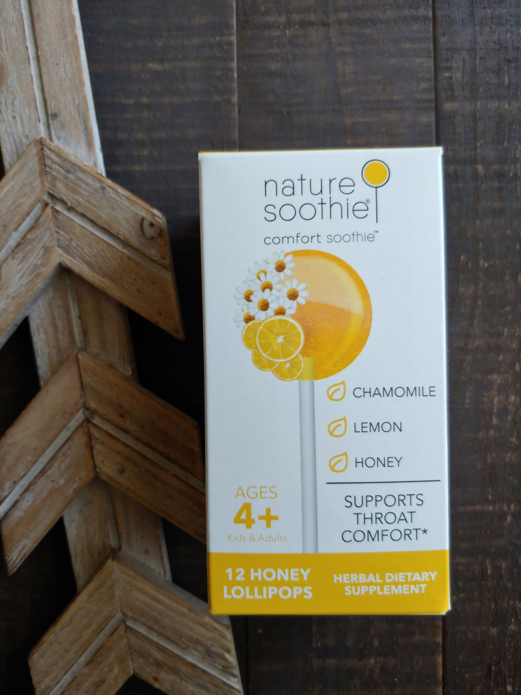 Nature Soothie ll Comfort Soothie Lollipops - SimplyGinger