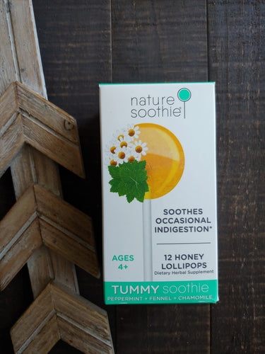 Nature Soothie ll Tummy Soothie Lollipops - SimplyGinger