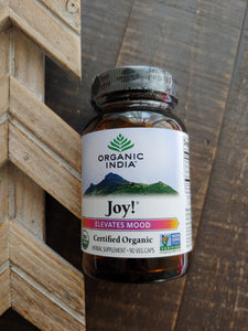 Joy ( Elevates Mood ) Herbal Supplement ll Organic India