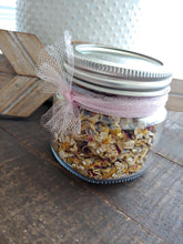 Teacher Gifts llChristmas Special Herbal Jar Gifts ll Elderberry ll Oatmeal + Calendula ll JackFrost