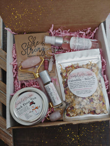 Simply Ginger Gift Box ll Christmas Gift Ideas