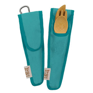 TO-GO WARE BERRY BLUE REUSABLE REPEAT UTENSIL SETS FOR KIDS - Teal - SimplyGinger